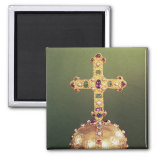 The Imperial Orb Of the Holy Roman Emperors Square Magnet