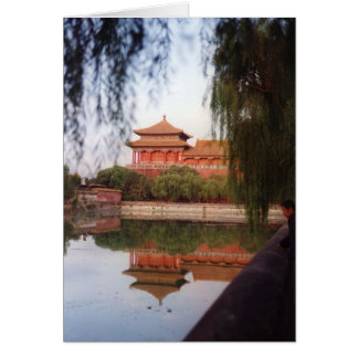 The Imperial Palace, Beijing Card