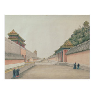The Imperial Palace in Peking Postcard