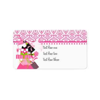 The Impossible Wedding Stack Lace Address Label