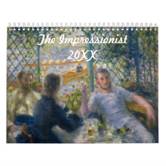 The Impressionist ~ Changeable for 2017 Wall Calendars