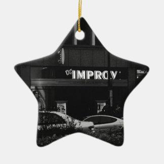 The Improv Ceramic Ornament