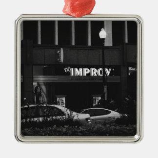 The Improv Metal Ornament