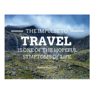 The Impulse to Travel Postcard