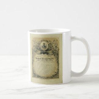 The Inaugural Address of President Abraham Lincoln Basic White Mug