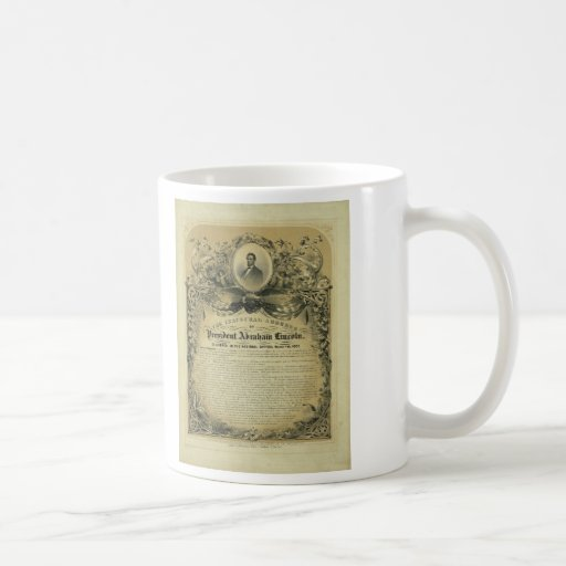 The Inaugural Address of President Abraham Lincoln Mug