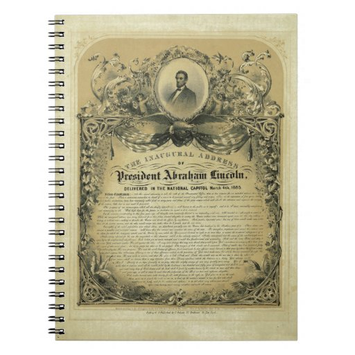 The Inaugural Address of President Abraham Lincoln Notebooks