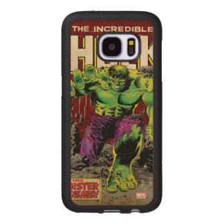 The Incredible Hulk Comic #105 Wood Samsung Galaxy S7 Case