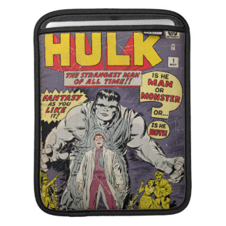 The Incredible Hulk Comic #1 iPad Sleeve