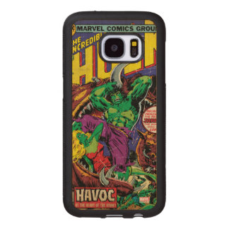 The Incredible Hulk Comic #202 Wood Samsung Galaxy S7 Case