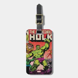 The Incredible Hulk Comic #314 Luggage Tag