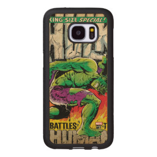 The Incredible Hulk King Size Special #1 Wood Samsung Galaxy S7 Case