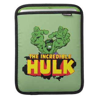 The Incredible Hulk Logo iPad Sleeve