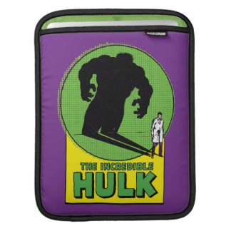 The Incredible Hulk Vintage Shadow Graphic iPad Sleeve