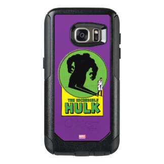 The Incredible Hulk Vintage Shadow Graphic OtterBox Samsung Galaxy S7 Case