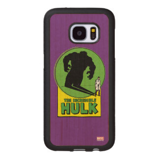 The Incredible Hulk Vintage Shadow Graphic Wood Samsung Galaxy S7 Case