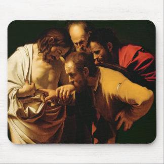 The Incredulity of St. Thomas, 1602-03 Mouse Pad