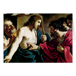 The Incredulity of St. Thomas Card