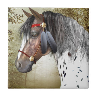 The Indian Pony Tile