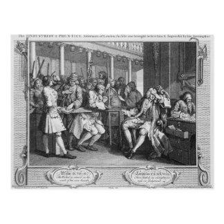 The Industrious 'Prentice Alderman of London Postcard