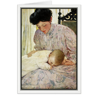 The Infant by Jessie Willcox Smith Card