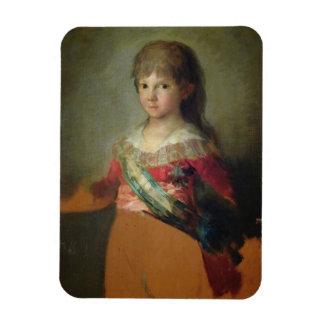 The Infante Don Francisco de Paula Antonio, 1800 ( Vinyl Magnets