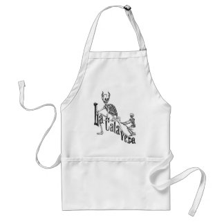 The Infernal Calavera The Day of the Dead Apron