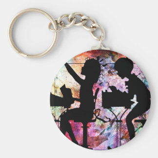 THE INKWELL DIP KEY RING