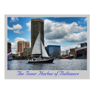 The Inner Harbor of Baltimore Postcard