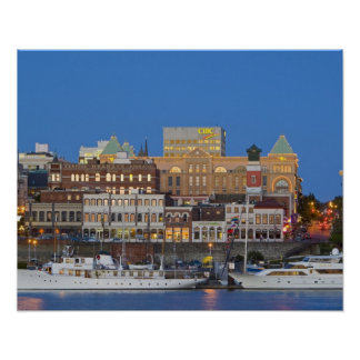 The inner harbour at Victoria British Columbia Poster