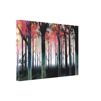 The Inner Light in the Forest Canvas Print