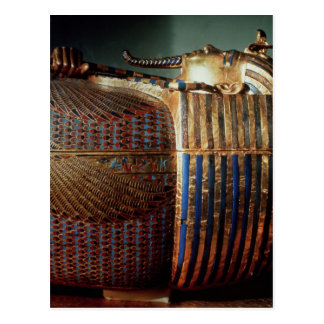 The innermost coffin of Tutankhamun Postcard