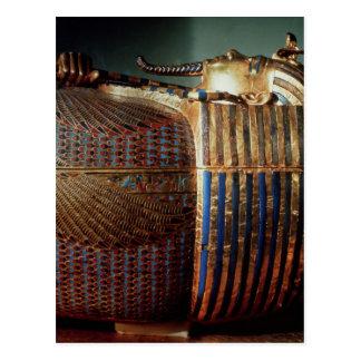 The innermost coffin of Tutankhamun Postcard