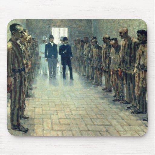 The Inspection (oil on canvas) Mouse Pads