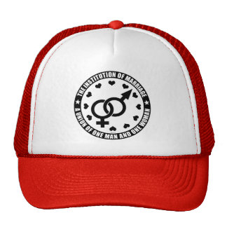 The Institution of Marriage Cap