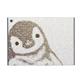 The Intellectual Penguin - typography art Cases For iPad Mini