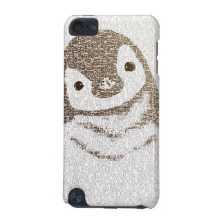 The Intellectual Penguin - typography art iPod Touch (5th Generation) Covers