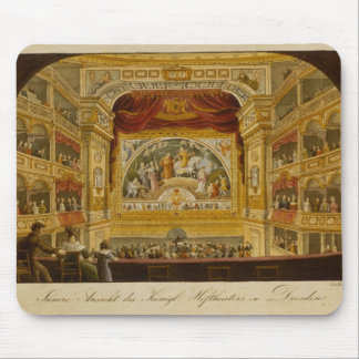 The interior of the royal theatre at Dresden Mouse Pad