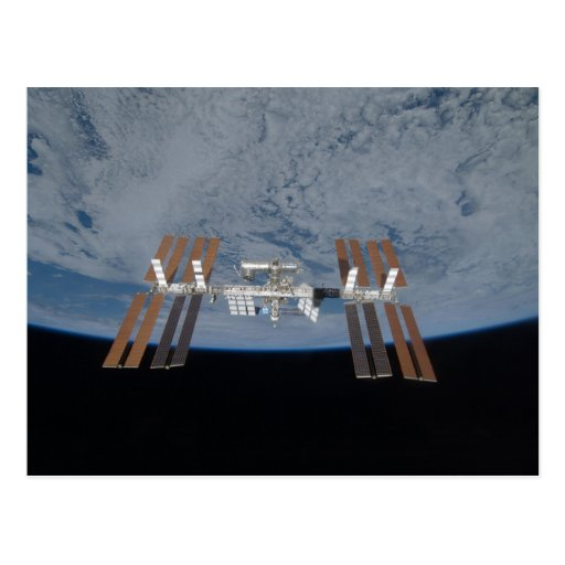 The International Space Station 2009 Postcards