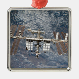 The International Space Station 8 Metal Ornament