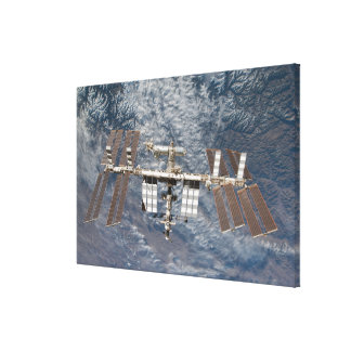 The International Space Station 9 Stretched Canvas Prints