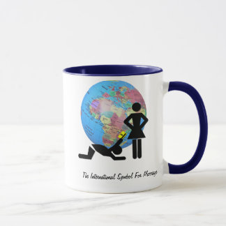 The International Symbol For Marriage Mug