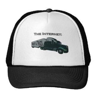 The Internet is not a truck Cap