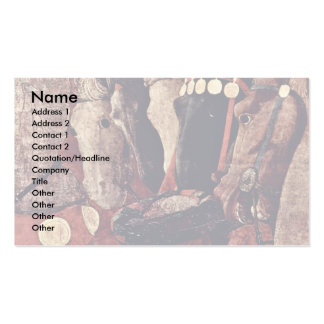 The Intervention Of Micheletto As Cotignola Detail Business Card