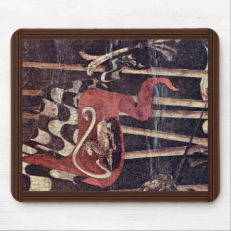 The Intervention Of Micheletto As Cotignola Detail Mousepad