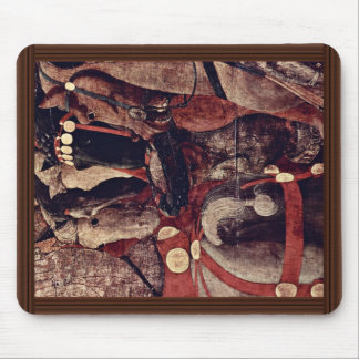 The Intervention Of Micheletto As Cotignola Detail Mouse Pad