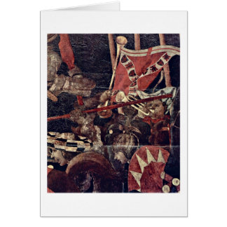 The Intervention Of Micheletto By Paolo Uccello Card