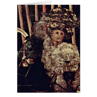 The Intervention Of Micheletto By Paolo Uccello Greeting Cards