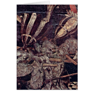 The Intervention Of Micheletto By Paolo Uccello Cards