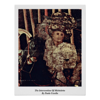 The Intervention Of Micheletto By Paolo Uccello Print